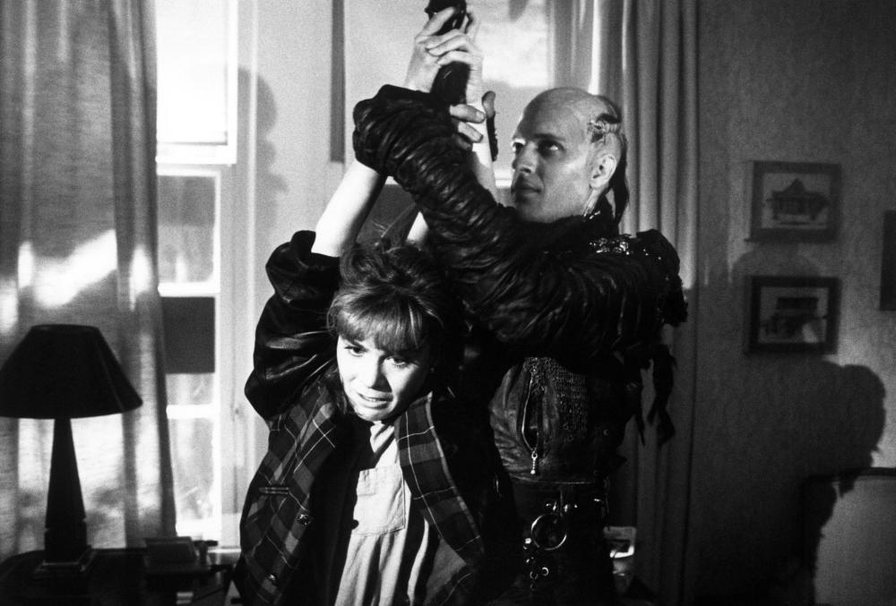 HIGHLANDER, Roxanne Hart, Clancy Brown, 1986. ©20th Century Fox/courtesy Everett