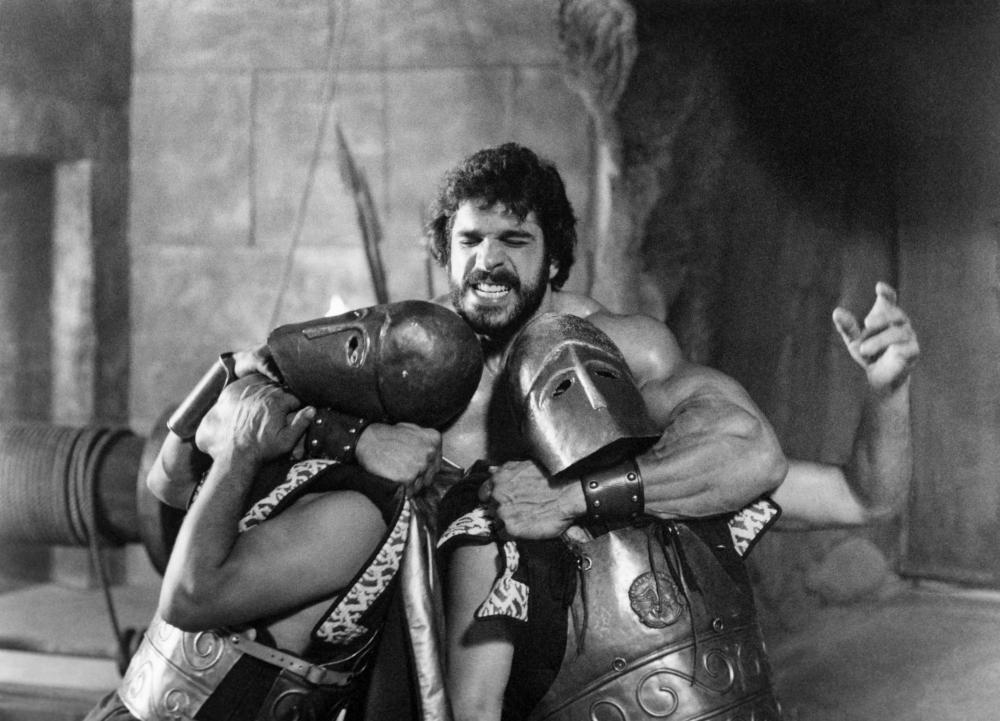 HERCULES, Lou Ferrigno, 1983.©Cannon Films