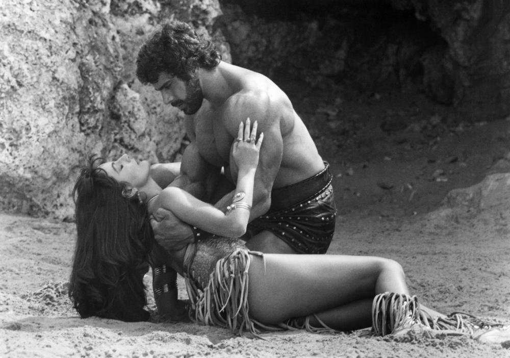 HERCULES, Mirella D'Angelo, Lou Ferrigno, 1983.©Cannon Films
