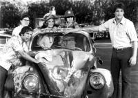 HERBIE GOES BANANAS, Charlie Martin Smith, Elyssa Davalos, Cloris Leachman, Joaquin Garay III, Stephen Burns, 1980