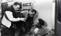 HANGIN' WITH THE HOMEBOYS, Nestor Serrano, Mario Joyner, Doug E. Doug, 1991, (c) New Line