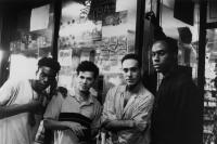 HANGIN' WITH THE HOMEBOYS, Doug E. Doug, John Leguizamo, Nestor Serrano, Mario Joyner, 1991, (c) New Line
