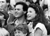 GUNG HO, Michael Keaton, Mimi Rogers, 1986. ©Paramount