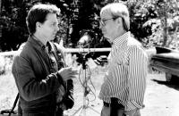 GRAVEYARD SHIFT, David Andrews and Director Ralph S. Singleton, 1990