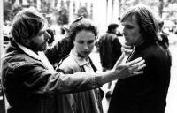 GREEN CARD, Director Peter Weir, Andie MacDowell, Gerard Depardieu, 1990. (c) Touchstone Pictures.