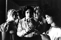 GOTHIC, Natasha Richardson, Timothy Spall, Gabriel Byrne, Julian Sands, Myriam Cyr, 1986, (c) Vestron Pictures