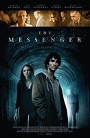 THE MESSENGER, poster, bottom, top: Joely Richardson (left of center), Tamzin Merchant (sunglasses), Andrew Tiernan (right of center), David O'Hara (right), bottom, bottom, from left: Lily Cole, Robert Sheehan, 2015. ©Metrodome Distribution
