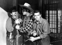 THE DESPERADOES, Guinn Williams, Glenn Ford, 1943.