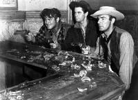 THE DESPERADOES, Guinn Williams, Glenn Ford, Randolph Scott, 1943.