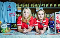 YOGA HOSERS, from left: Harley Quinn Smith, Lily-Rose Melody Depp, 2016. ph: Allan Amato/
