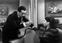 DARK PASSAGE, Humphrey Bogart, Agnes Moorehead, 1947.