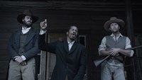 THE BIRTH OF A NATION, from left: Armie Hammer, Nate Parker, Jayson Warner Smith, 2016, TM and © copyright Fox Searchlight Pictures. All rights reserved.