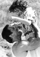 COMMANDO, Arnold Schwarzenegger, Alyssa Milano, 1985, TM and Copyright © 20th Century Fox Film Corp. All rights reserved,