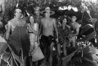 CLUB PARADISE, Bill Curry, Robin Duke, Richard Wiese, Steven Kampmann, Andrea Martin, Eugene Levy, 1986. ©20thCentFox/courtesy Everettampmann, 1986. ©Warner Brothers/courtesy Everett