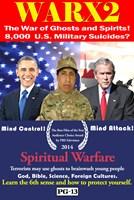 WARX2, poster art, President Barack Obama (left), President George W. Bush (right), 2014. ©Tugg