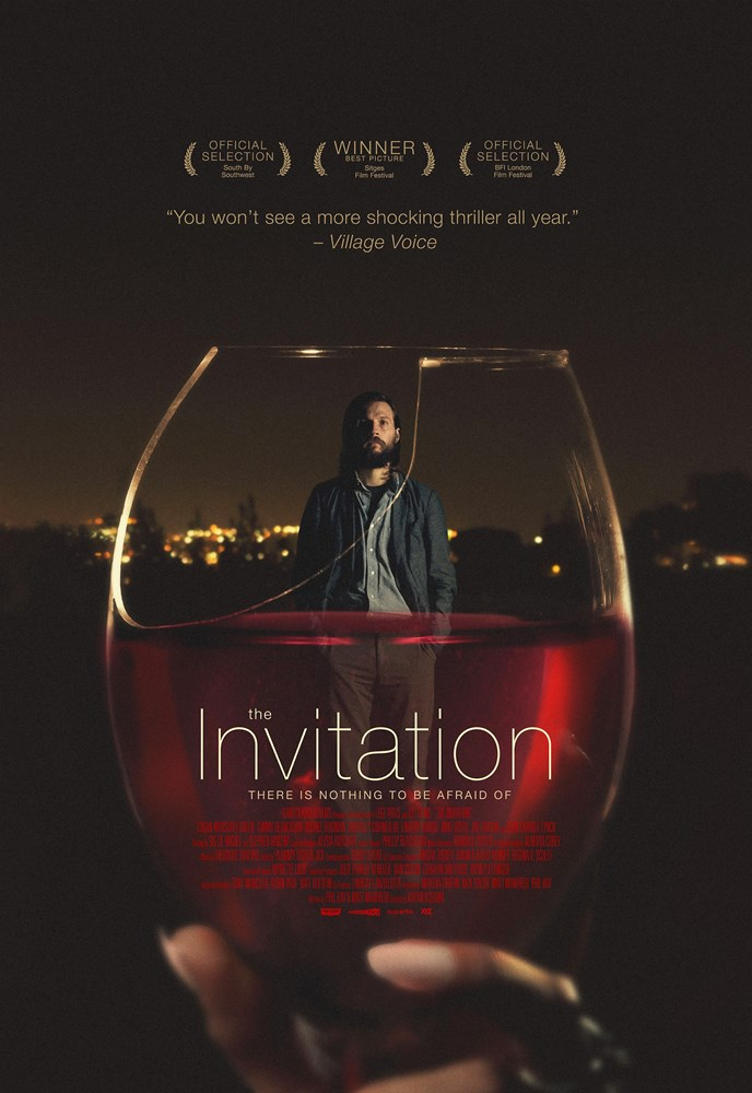 THE INVITATION, US poster art, Logan Marshall-Green, 2015. ©Drafthouse Films