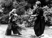 THE CHALLENGE, Toshiro Mifune, Scott Glenn, 1982, (c) Embassy Pictures