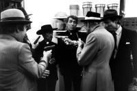 CANNONBALL RUN II, Sammy Davis Jr. (second from left), Dean Martin, Abe Vigoda, Henry Silva, 1984, (c)Warner Bros.