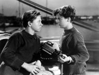 CAPTAINS COURAGEOUS, Mickey Rooney, Freddie Bartholomew, 1937