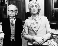 BRITANNIA HOSPITAL, from left: Marcus Powell, John Bett, 1982, © United Artists