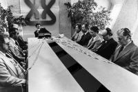 BRAINSTORM, Cliff Robertson (center), 1983, (c)MGM