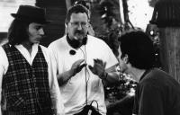 BENNY & JOON, Johnny Depp, director Jeremiah Chechik, Aidan Quinn, 1993, ©MGM