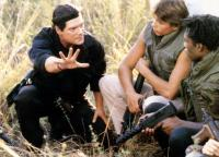 BAND OF THE HAND, Stephen Lang, Danny Quinn, Leon Robinson, 1986. ©TriStar Pictures