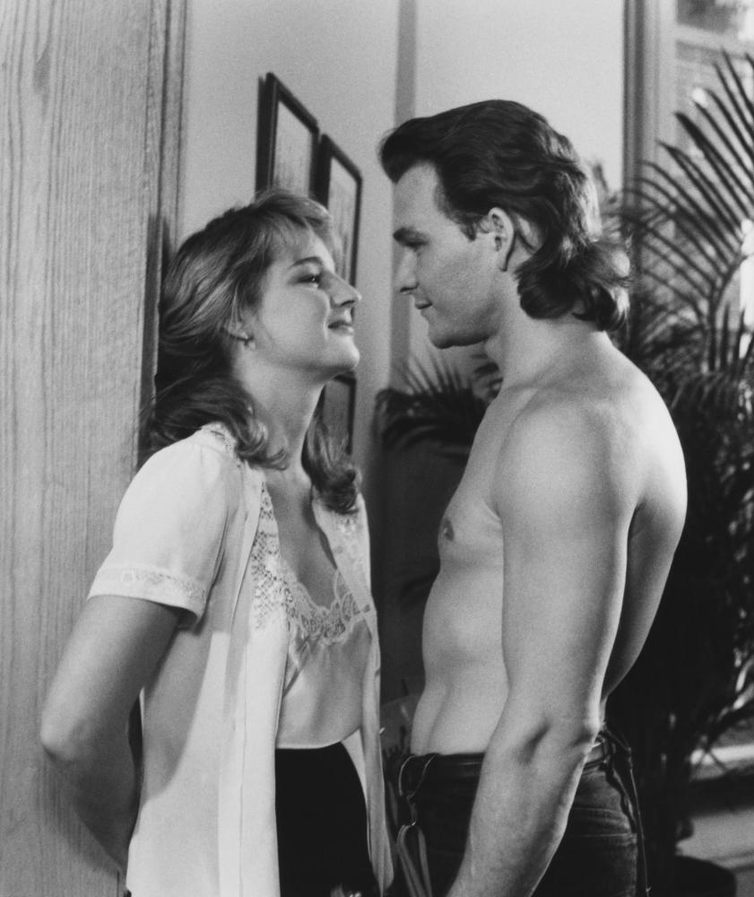 NEXT OF KIN, Helen Hunt, Patrick Swayze, 1989, ©Warner Bros./courtesy Evere
