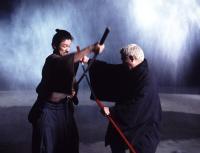 ZATOICHI, Tadanobu Asano, 'Beat' Takeshi Kitano, 2003, (c) Miramax