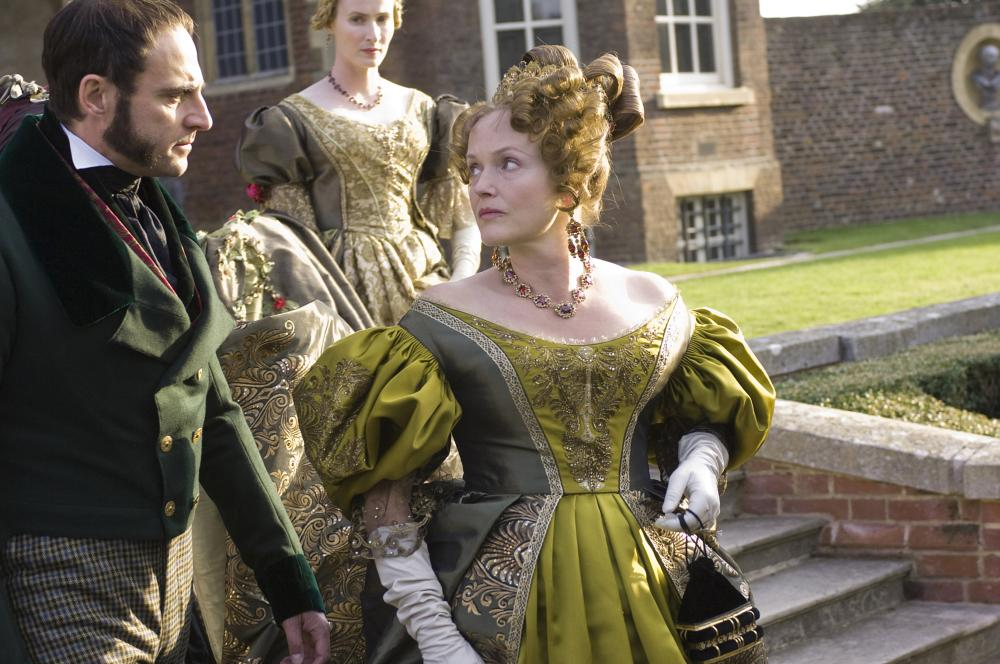 THE YOUNG VICTORIA, foreground from left: Mark Strong, Miranda Richardson as the Duchess of Kent, 2009. ©Momentum Pictures