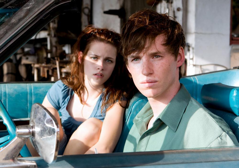 THE YELLOW HANDKERCHIEF, from left: Kristen Stewart, Eddie Redmayne, 2008. ©Samuel Goldwyn Films