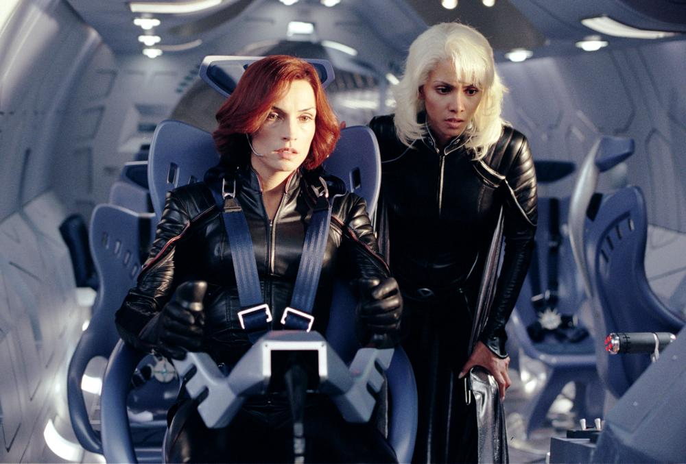 X-MEN 2, Famke Janssen, Halle Berry, 2003, TM & Copyright (c) 20th Century Fox Film Corp. All rights reserved.