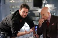 X-MEN: THE LAST STAND, Director Brett Ratner, Patrick Stewart, on set, 2006, TM & Copyright (c) 20th Century Fox Film Corp. All rights reserved.