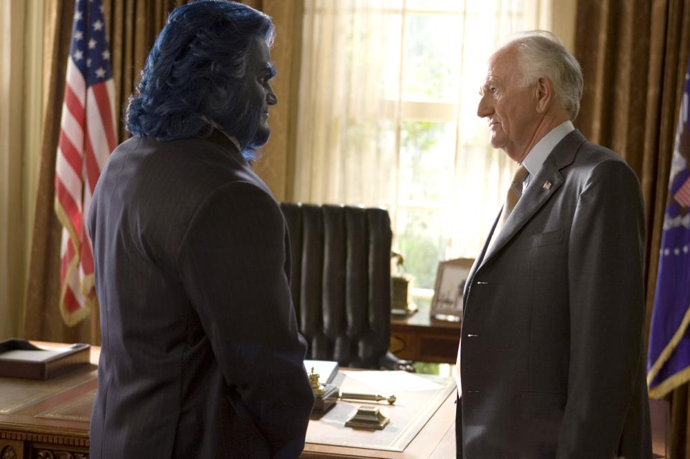 X-MEN: THE LAST STAND, (aka X-MEN 3), Kelsey Grammer, Josef Sommer, 2006, TM & Copyright (c) 20th Century Fox Film Corp. All rights reserved.