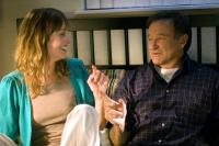 WORLD'S GREATEST DAD, from left: Alexie Gilmore, Robin Williams, 2009. ©Magnolia Pictures
