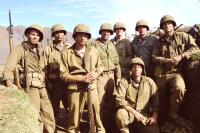 WINDTALKERS, Mark Ruffalo, Adam Beach, Martin Henderson, Nicolas Cage, Noah Emmerich, Brian Van Holt, 2002 (c) MGM.