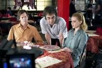 WHERE THE TRUTH LIES, Kevin Bacon, director Atom Egoyan, Alison Lohman on set, 2005, (c) ThinkFilm