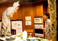 WHERE THE WILD THINGS ARE, from left: Max Records, Catherine Keener, 2009. ©Warner Bros.