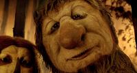 WHERE THE WILD THINGS ARE, from left: Judith (voice: Catherine O'Hara), Ira (voice: Forest Whitaker), 2009. ©Warner Bros.