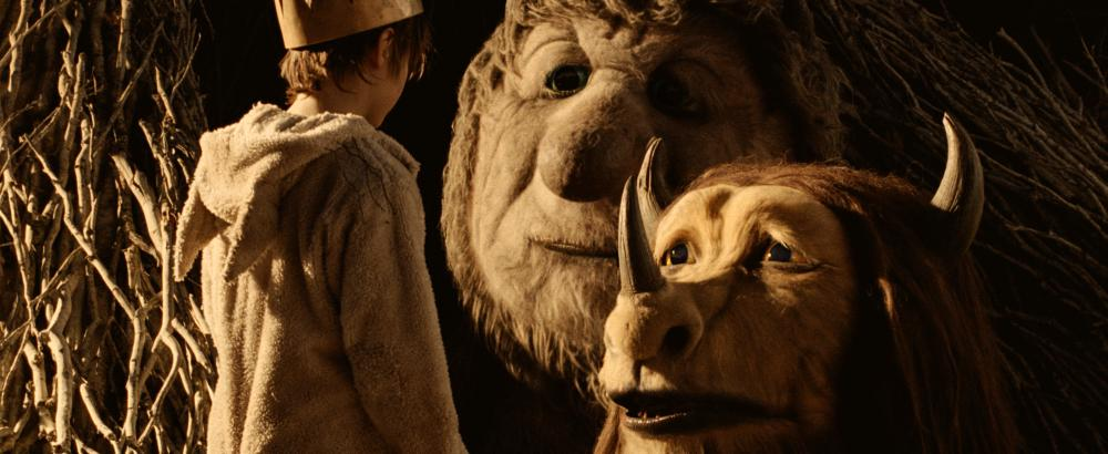 WHERE THE WILD THINGS ARE, from left: Max Records, Ira (voice: Forest Whitaker), Judith (voice: Catherine O'Hara), 2009. ©Warner Bros.