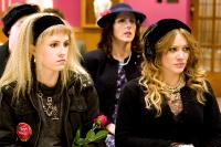 WHAT GOES UP, from left: Aubrey Mozino, Molly Shannon, Hilary Duff, 2009. ©Sony Pictures