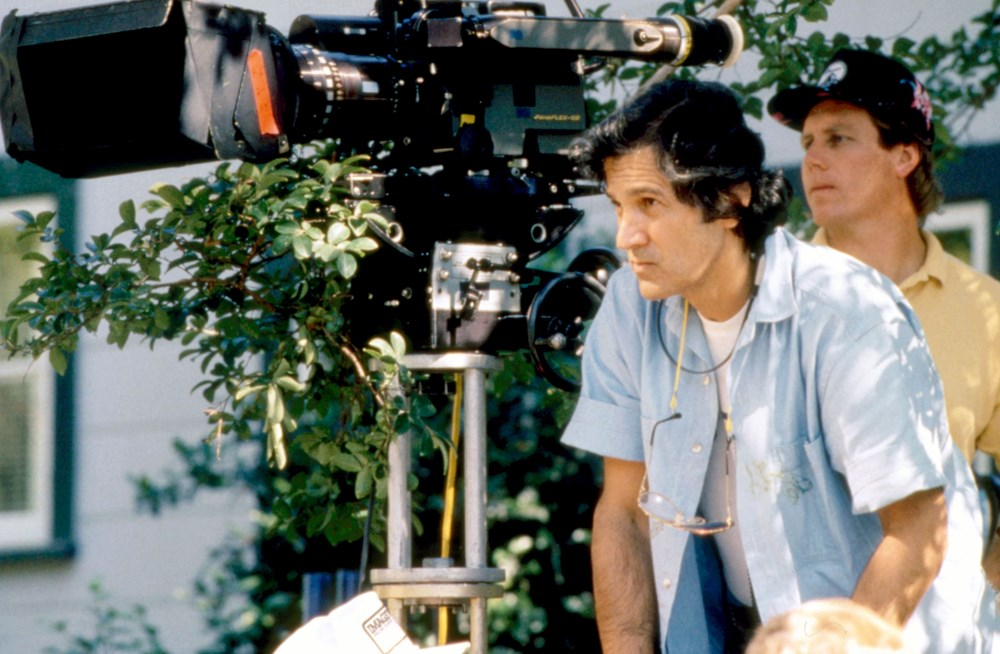 SHE'S OUT OF CONTROL, Director Stan Dragoti, on set, 1989, (c)Columbia Pictures