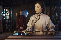 CROUCHING TIGER, HIDDEN DRAGON: SWORD OF DESTINY, from left: Natasha Liu Bordizzo, Michelle YEOH, 2016. ph: Rico Torres/© The Weinstein Company