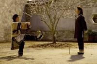 CROUCHING TIGER, HIDDEN DRAGON: SWORD OF DESTINY, from left: Natasha Liu Bordizzo, Michelle YEOH, 2016. ph: Rico Torres/© The Weinstein Company