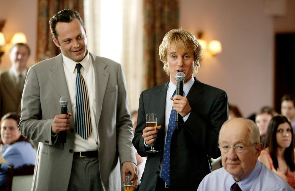 WEDDING CRASHERS, Vince Vaughn, Owen Wilson, 2005, (c) New Line