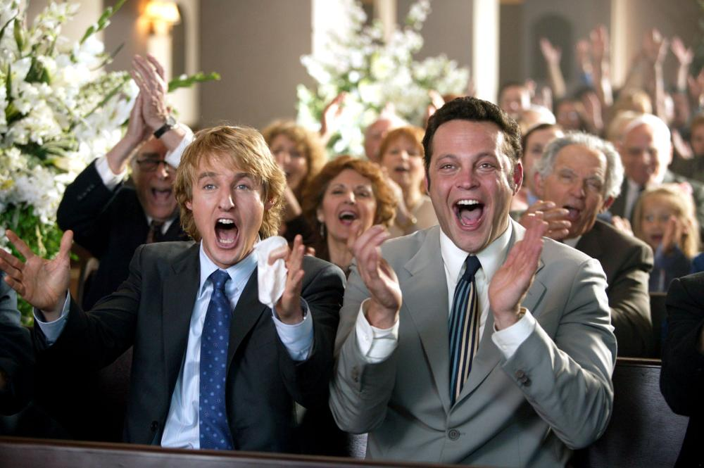 WEDDING CRASHERS, Owen Wilson, Vince Vaughn, 2005, (c) New Line