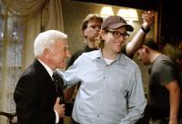 WEDDING CRASHERS, Henry Gibson, director David Dobkin on set, 2005, (c) New Line