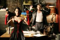 WATCHING THE DETECTIVES, from left: Lucy Liu, Brett Gelman, 2007. ©Peace Arch Films