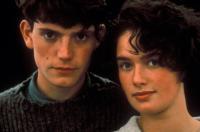 WATERLAND, from left: Grant Warnock, Lena Headey, 1992, © Fine Line