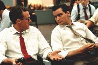 WALL STREET, John C. McGinley, Charlie Sheen, 1987, TM & Copyright (c) 20th Century Fox Film Corp.